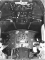 Instrument board of cockpit.