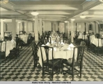 Dining Room, S.S. Yukon.