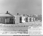 Northwest Airlines housing units at C Street and 10th Avenue, Anchorage, Alaska, 20 Feb 1948.