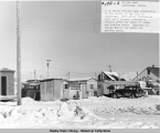 13th and C Streets, Anchorage, Alaska, 20 Feb 1948.