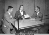 Presentation of AMA Award  to radio station KFQD.