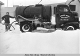 Nome water truck, 1948.