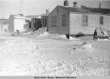 ANS School & teachers quarters, Gambell, Alaska.