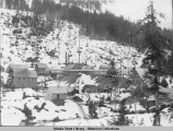 The Upper Camp at Jualin in winter, about 1910 or 1911.