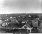 View from Golden Gate Hotel looking north.  Sept. 29, 1905.