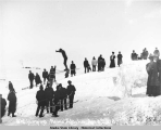 Ski-jumping.  Nome, Alaska.  April 8, 1906.