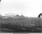 Winter dumps on Little Creek, Nome, Alaska.  May 20, 1906. Part C.