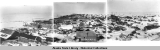Panorama view of Nome, April 1907.  Combined image.