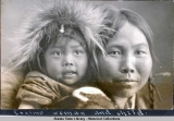 Eskimo woman and child.