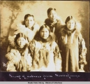 Group of natives from Sinrock [Sinuk], Alaska 1913.