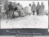 Sinrock [Sinuk] Reindeer Camp, April 19, 1912.