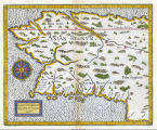 Limes occidentis Quivira et Anian, 1597 [map].