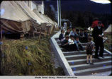 Aleut refugees at Wrangell Institute, ca. 1942.