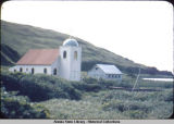Russian church at Attu, M.G. 7/41.