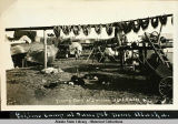 Eskimo camp at Sanspit [Sandspit Point],  Nome, Alaska.