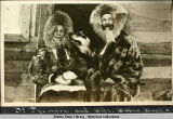 Dr. Thomson and wife.  Wales, Alaska.