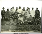 A Group of Siberian Eskimos. Nome, Alaska.