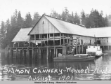 Salmon Cannery- Wrangel [Petersburg] -Alaska August-1901.