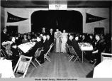 Wedding of Jerry Williams at old Juneau ANB Hall, ca.1921.