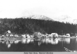 General view of Tenakee Springs, Alaska, May 1909.