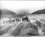On the great glacier, Stikine River near Wrangell, Alaska June 21,1914.