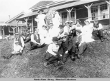 Picnic party at Taku Cannery c. 1910.