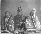 [Men of the Shangukeidí from Klukwan.]