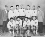Gold Medal championship ANB basketball team, 1956.