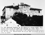 The Old Baranof Castle as it appeared about 1890.