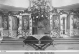 Interior view of the church in Sitka ©1933.