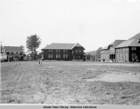 Sheldon Jackson School. Grounds of Presbyterian Mission, Sitka 9/11/36.