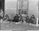 Tlingit women and children, Sitka Alaska.
