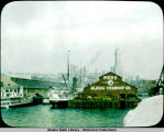 Pier No. 2. Alaska Steamship dock in Seattle.