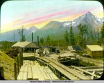 Sawmill at mile 3 near Seward.