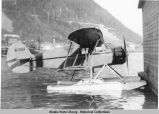 Floatplane at dock in Juneau.
