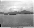 Fleet torpedo boat destroyers. Sitka. Harbor. Alaska. Aug. 2, 1909.