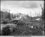 A.C. Co. Sawmill at Glacier Creek Alaska.