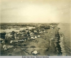 Birds eye view of Nome from Lane's Derick, 1903.