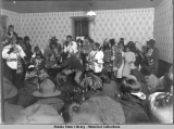 A dance at Billy Jackson's house, ca. 1921.