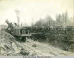 Excavating at sta. 22, Bering River Line looking N.E. July 10, 1907.