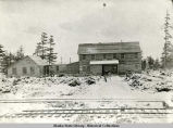 Katalla Company bunkhouse and headquarters. 1907.
