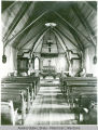 Interior of the Holy Trinity Episcopal Church on Fourth and Gold Streets, Juneau.