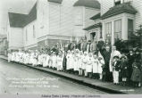 "Children in play cast of ""Smiles."" Home Town Follies of 1926. Juneau, Alaska. Feb. 9-10,..."