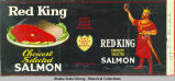 S. & W. Berisford (?), Red King Choicest Selected Salmon