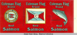 Alaska Packers Association, Coleman Flag Brand Red Salmon