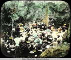 Club[?] Lunch on Burro Creek, June 22, 1900.