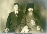 Archmandrite/Bishop Amfilokhii (given name Anton Iakolev Vakulskii)  in church robes with his...