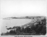 Birdeye view of Sitka, Alaska.  The most picturesque and historical spot in Alaska.