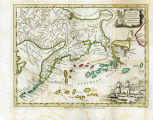 A map of the new northern archipelago discovered by the Russians in the Seas of Kamtschatka &...