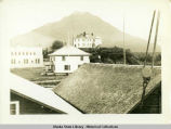 Castle Hill, Sitka, and adjacent buildings, 1940.